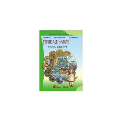 Manual stiinte ale naturii clasa a IV-a