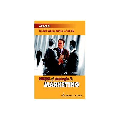 Pretul si strategia de marketing