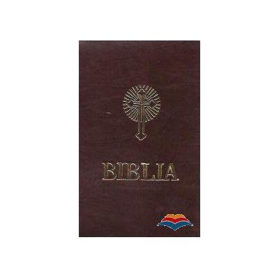 Biblia Sau Sfanta Scriptura - Coperti din piele cu fermoar, Format A5