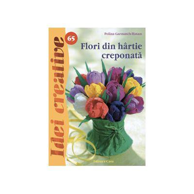 Flori din hârtie creponată - Idei Creative 65
