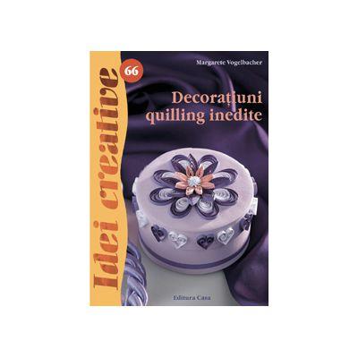 Decoraţiuni quilling inedite - Idei Creative 66