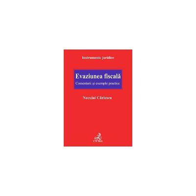 Evaziunea fiscala. Comentarii si exemple practice
