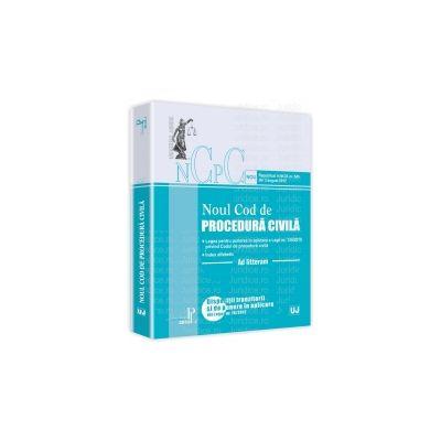 Noul cod de procedura civila. Ad litteram Republicat în M.Of. nr. 545 din 3 august 2012