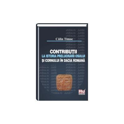 Contributii la istoria prelucrarii osului si cornului in Dacia romana