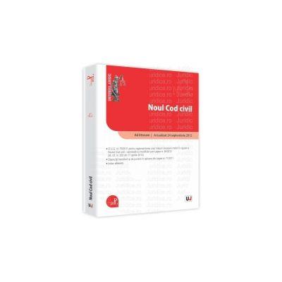 Noul Cod civil - Ad litteram Actualizat la 24 septembrie 2012
