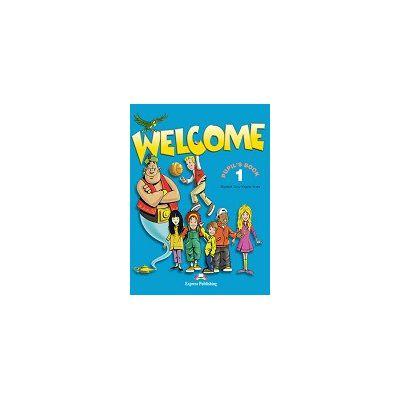Welcome - student's book 1 Manual pentru clasa a III-a