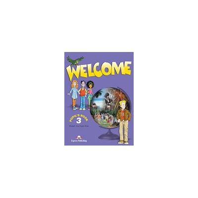 Welcome 3 (SB) pupil's book. Manual pentru clasa a V-a