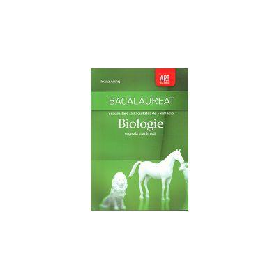 BACALAUREAT 2013 BIOLOGIE VEGETALA SI ANIMALA.  ADMITEREA LA FACULTATEA DE FARMACIE