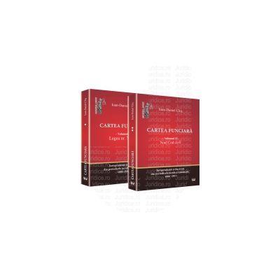 Cartea funciara. Vol. 1 - Legea 7/1996. Vol. 2 - Noul Cod civil Jurisprudenta si doctrina din periodicele juridice romanesti. 1886-2011