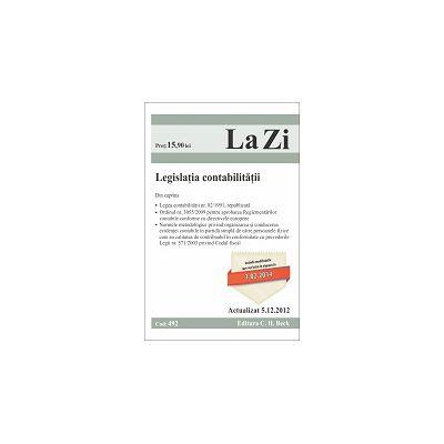 Legislatia contabilitatii (actualizat la 05.12.2012)
