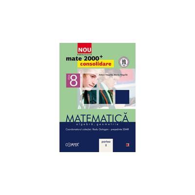 Mate 2013 Consolidare MATEMATICA. ALGEBRA, GEOMETRIE. CLASA A VIII-A. PARTEA II