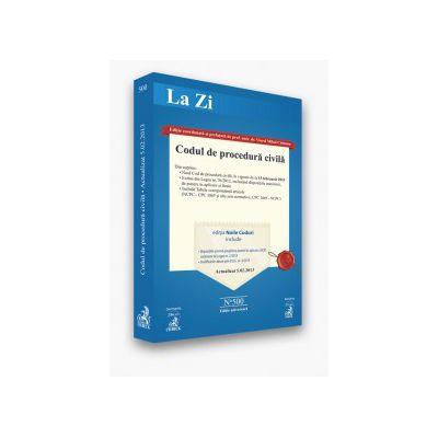 Codul de procedura civila  actualizat la 5.02.2013