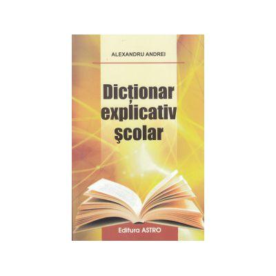 Dictionar explicativ scolar - cartonat