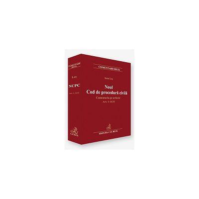 Noul Cod de procedura civila. Comentariu pe articole Art. 1-1133