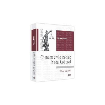 Contracte civile speciale in noul Cod civil Note de curs
