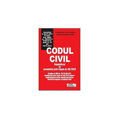 Codul civil actualizat Culegere de acte normative