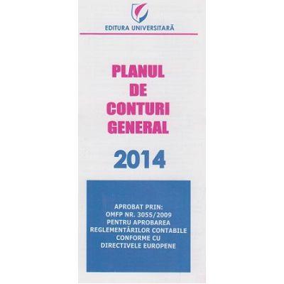 Planul de Conturi General 2014 - aprobat prin OMFP nr. 3055 / 2009