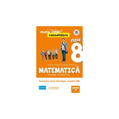 Mate 2013 - 2014 Consolidare - ALGEBRA, GEOMETRIE. CLASA A VIII-A. PARTEA II