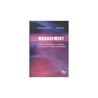 Management Teste, Probleme, Exerciţii, Studii de caz, Grile de evaluare