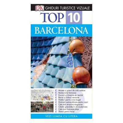 Top 10. Barcelona - Ghid turistic vizual editia a IV-a