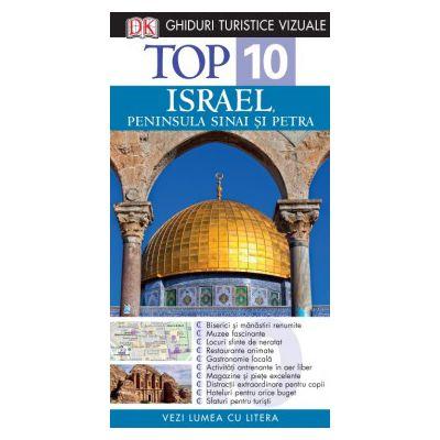 Top 10. Israel, Peninsula Sinai şi Petra - Ghid turistic vizual