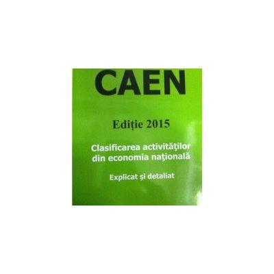 CAEN - Editia 2015 ( Explicat si detaliat)