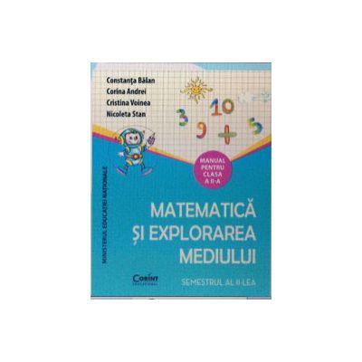 Matematica si explorarea mediului, manual pentru clasa a II-a Semestrul 1 si Semestrul 2