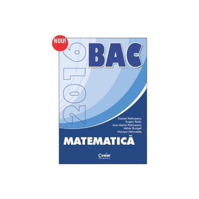 BACALAUREAT 2016 MATEMATICA