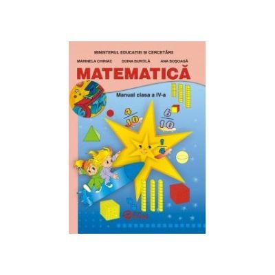 Matematica cls a IV-a, manual