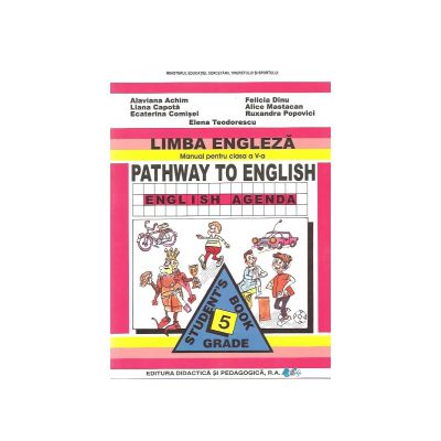 Manual de limba engleza - Clasa a V-a - Pathway to english - English Agenda
