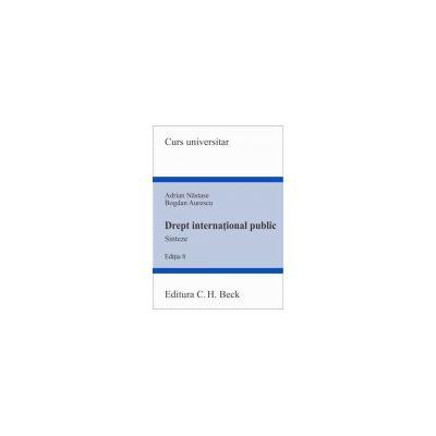 Drept International Public - Sinteze, Editia 8