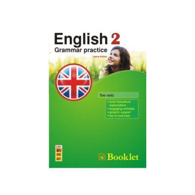 English Grammar practice - The verb