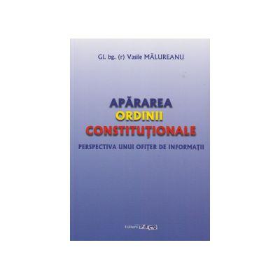 Apararea ordinii constitutionale - Perspectiva unui ofiter de informatii