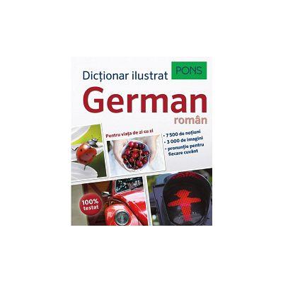 Dicționar ilustrat german-român - Pons