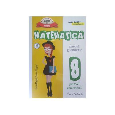 Matematica 2016 - 2017 Consolidare - Algebra, Geometrie - Clasa A VIII-A - Partea I - Semestrul I