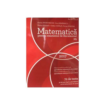 Bacalaureat 2017- Matematica M1 CLUBUL MATEMATICENILOR - 72 de teste