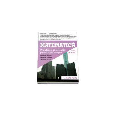 Matematica, M2. Culegere de probleme pentru clasa a XI-a