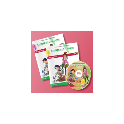 Stiinte ale naturii, manual pentru clasa a III-a. Semestrul I si II Mirela Mihaescu (editie tiparita si editie digitala)