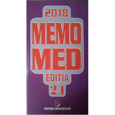 MEMOMED 2018 - Ghid farmacoterapic alopat si homeopat - Editia 24 - 2 VOLUME