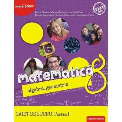 Matematica 2018 - 2019 Consolidare - Algebra, Geometrie - Clasa A VIII-A - Caiet de lucru - Semestrul I
