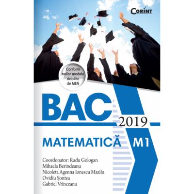 Bacalaureat 2019 - Matematică M1