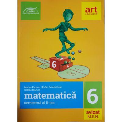 Matematică pentru clasa a VI-a - Semestrul II - Clubul Matematicienilor 2018-2019