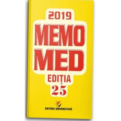 MEMOMED 2019 + GHID FARMACOTERAPIC ALOPAT SI HOMEOPAT - Editia 25