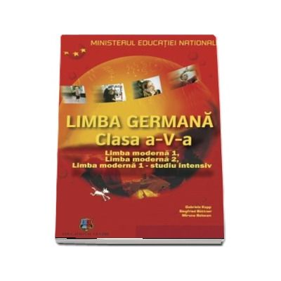 Planet 1, manual de germana pentru clasa a V-a. Limba moderna 1, Limba moderna 2, Limba moderna 1 - Studiu intensiv (Contine CD cu editia digitala