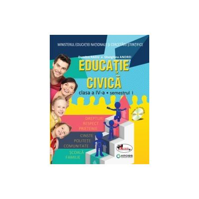 Educatie civica. Manual pentru clasa a IV-a (sem I+sem II, contine editie digitala) Radu / Andrei