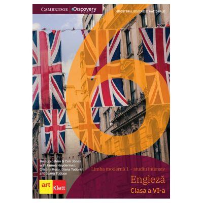LIMBA ENGLEZĂ - pentru studiu intensiv - Clasa a VI-a - MANUAL Cambridge