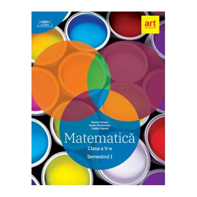 Clubul Matematicienilor 2019 - 2020 - Matematică - Clasa a V-a - Semestrul 1 - Marius Perianu
