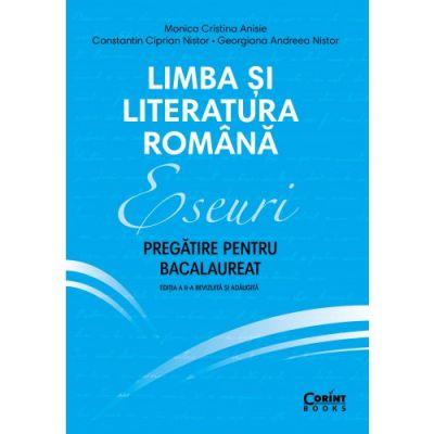 Eseuri 2020 - Pregătire pentru bacalaureat - Limba și literatura română