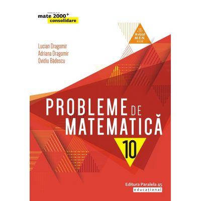 Mate 2019 Consolidare - PROBLEME DE MATEMATICA PENTRU CLASA A X-A