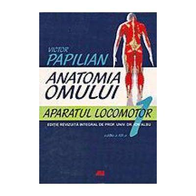 Anatomia Omului. Aparatul locomotor. Vol I